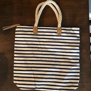 Summer & Rose Canvas Tote